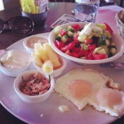 Authentic Israeli Breakfast experience