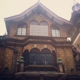 Villa outside Window