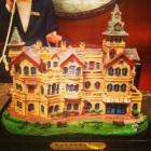 Moller Villa Miniature in Check-in Area