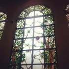 Inside Hotel beautiful windows